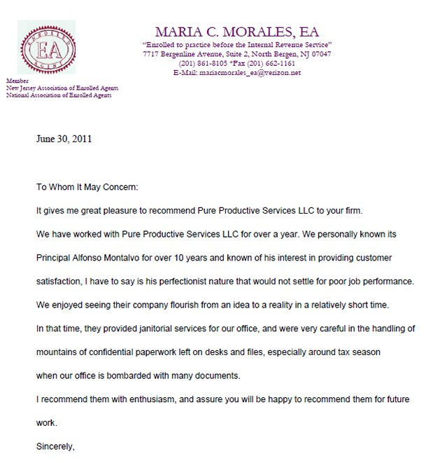 Reference letter for cleaning lady image collections letter format cleaning reference letter gallery letter format formal sample cleaning company cover letter examples speech hearing cleaning expocarfo Gallery