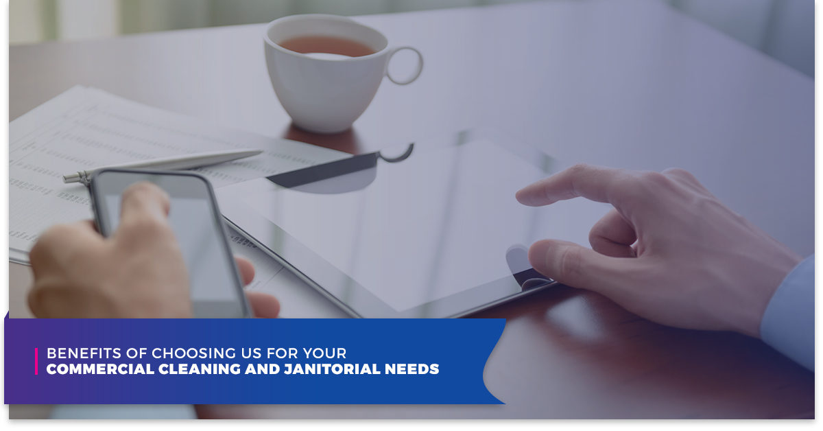 You Are In Control: Janitorial Technology Built For You